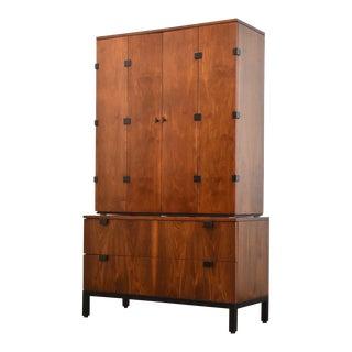 Milo Baughman for Directional Armoire Dresser For Sale