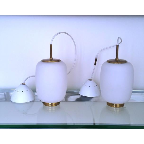 Bent Karlby China-Lamps - A Pair - Image 3 of 5