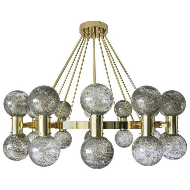Gold Bailarina Chandelier For Sale - Image 8 of 8
