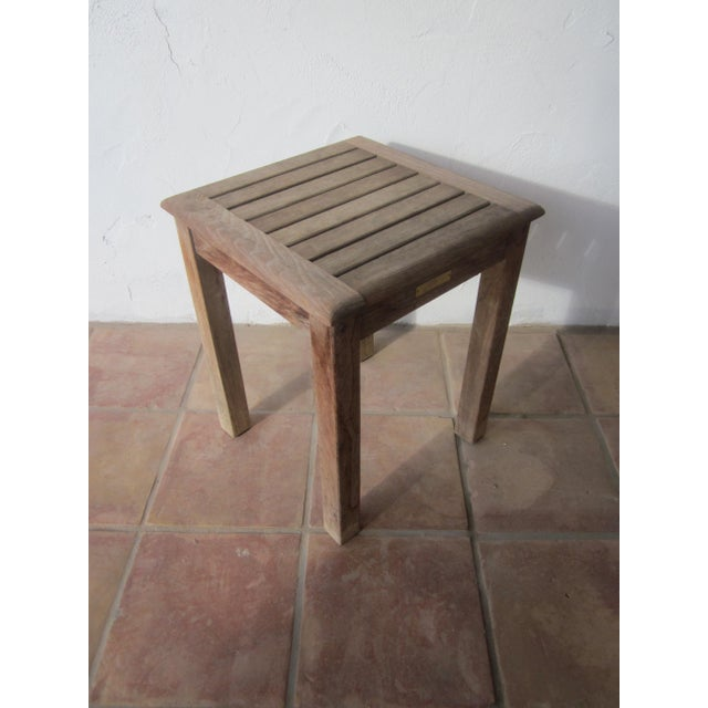 Javanese Teak Table, Kingsley Bate Outdoor Patio Furniture For Sale - Image  3 of 10 - Teak Table, Kingsley Bate Outdoor Patio Furniture Chairish