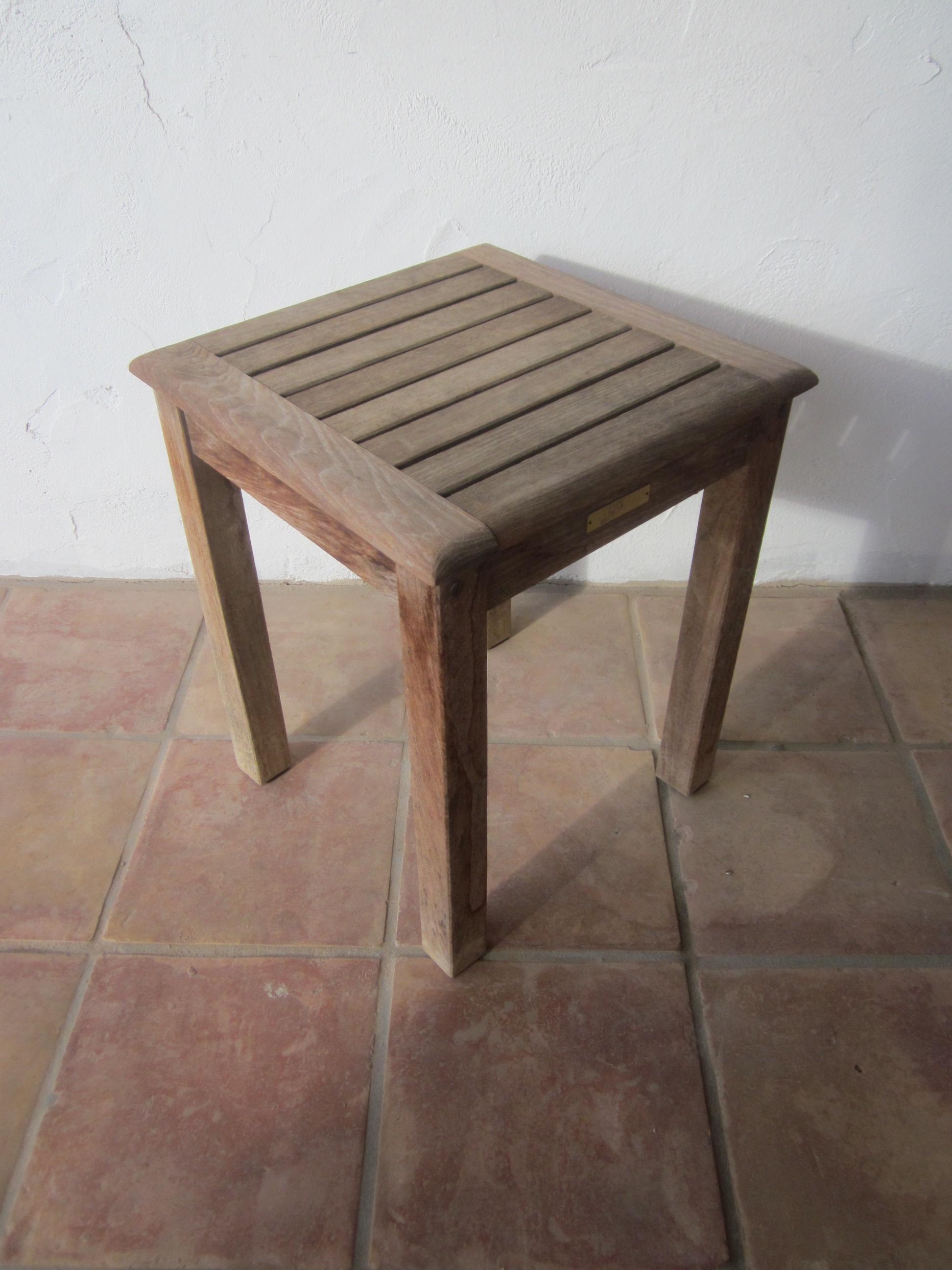 Javanese Teak Table, Kingsley Bate Outdoor Patio Furniture For Sale   Image  3 Of 10