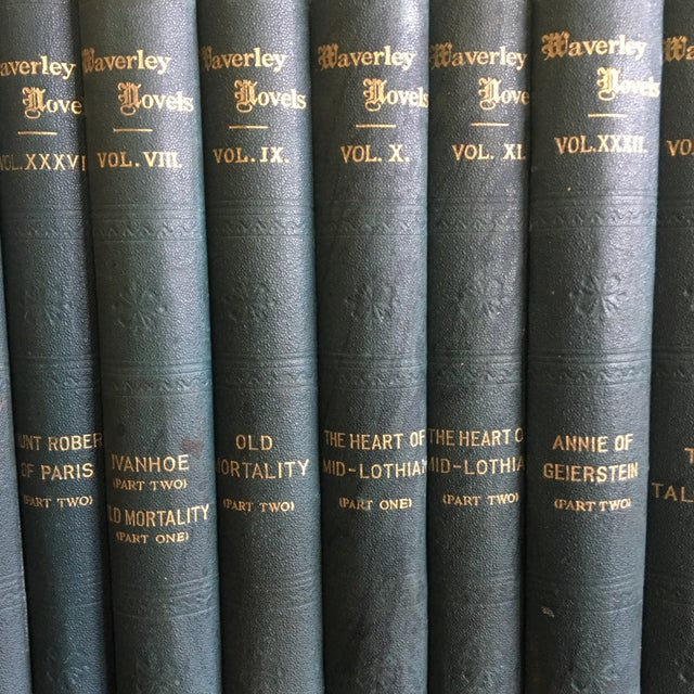English Traditional 1900 Waverly Novels - Set of 30 For Sale - Image 3 of 11