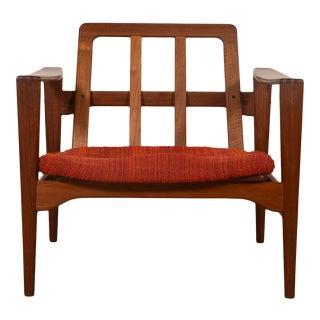The Distinguished Easy Chair — Model Ek by Illum Wikkelsø For Sale