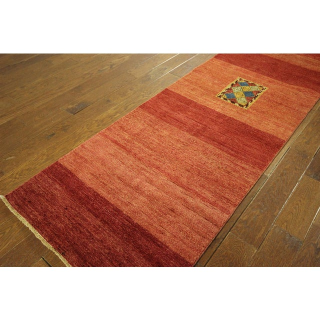 Modern Collection Gabbeh Runner - 2′9″ × 10′ For Sale - Image 4 of 9
