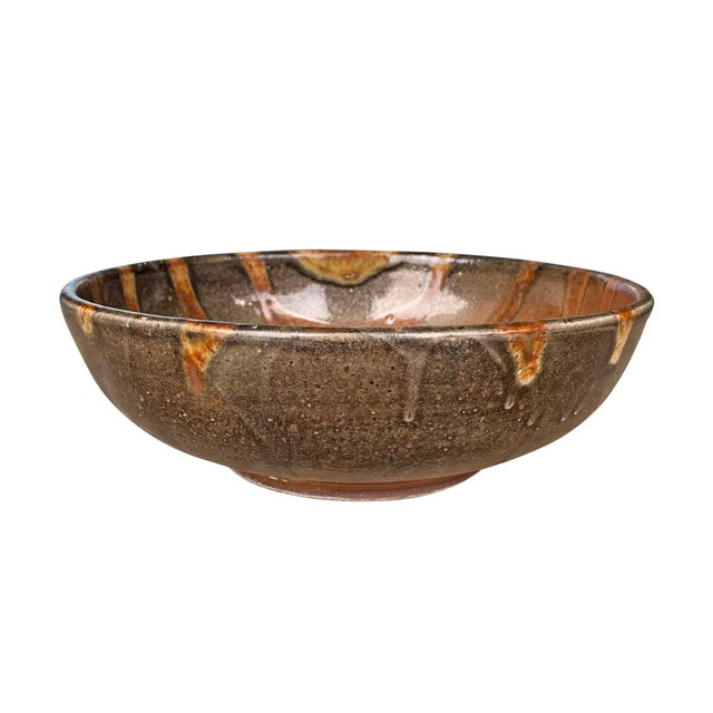 Vintage Studio Pottery Bowl For Sale In Chicago - Image 6 of 12
