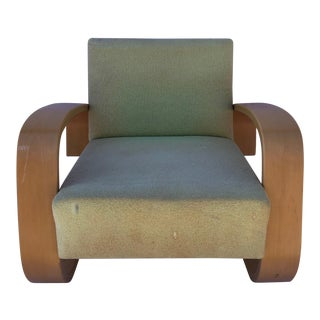 1980s Vintage Alvar Aalto Model 400 Tank Chair For Sale