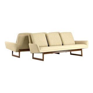 Jens Risom Sofas - A Pair For Sale