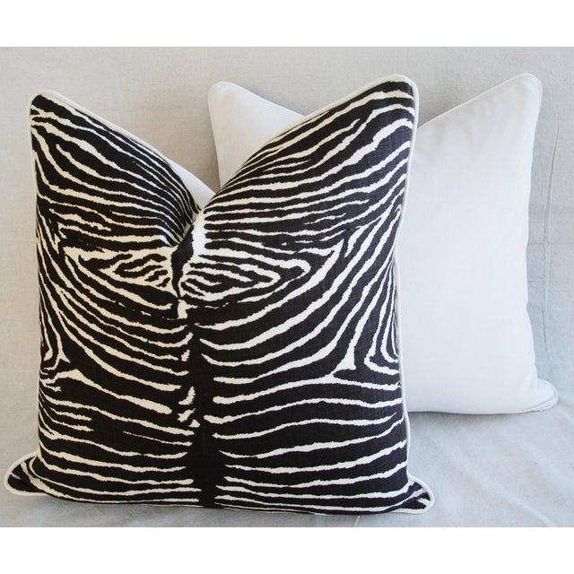 Brunschwig Fils Zebra Pillows - a Pair - Image 11 of 11