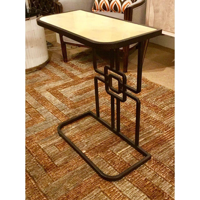new product 6f893 2374f Gabby Gilbert Modern Geometric Iron Accent Table
