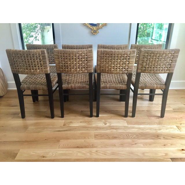 Palecek Panamawood Dining Chair - Set of 8 - Image 3 of 9