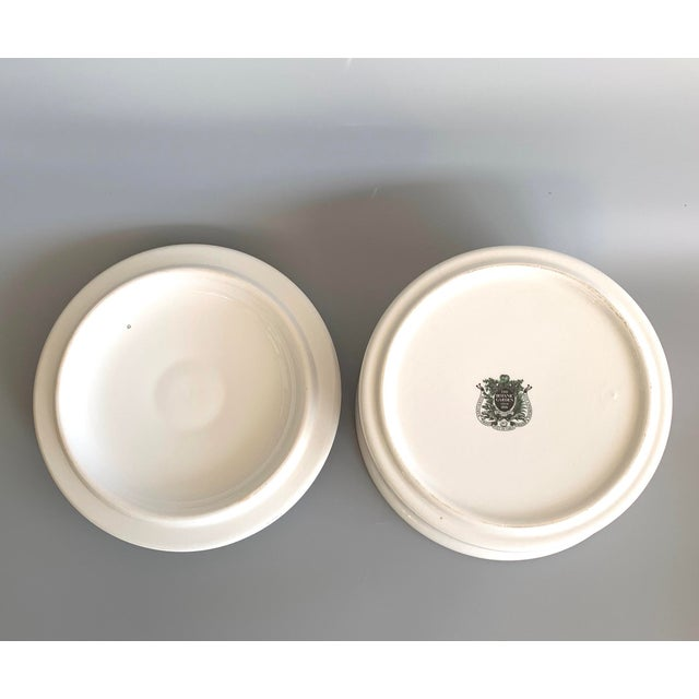 Ceramic English Portmeirion Botanic Garden Rhododendron Covered Casserole Tureen For Sale - Image 7 of 12