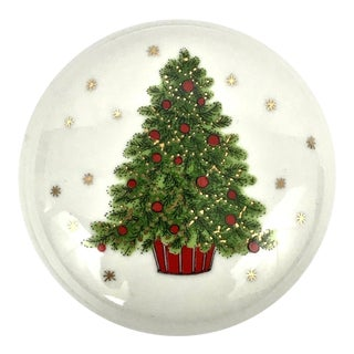 Christmas Tree Porcelain Box For Sale
