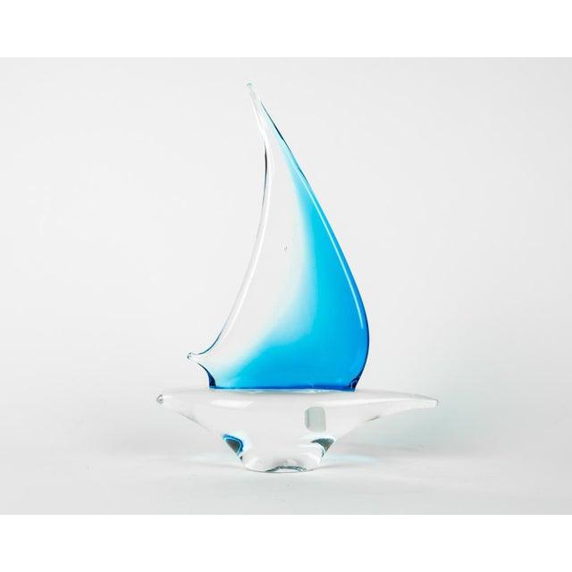 Murano Murano Glass Decorative Boat Piece For Sale - Image 4 of 8