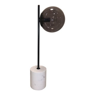 Marble Sphere Table Lamp For Sale