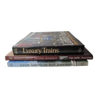 Railway Journeys & Train Books - 3 Pieces For Sale