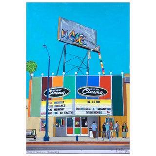 """This Is Beverly Cinema #6"" Original Artwork by Fabio Coruzzi For Sale"