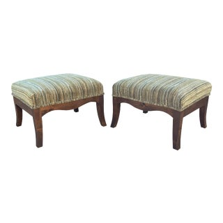 "Modern Medellin ""Mid-Century Style"" Ottomans - a Pair For Sale"