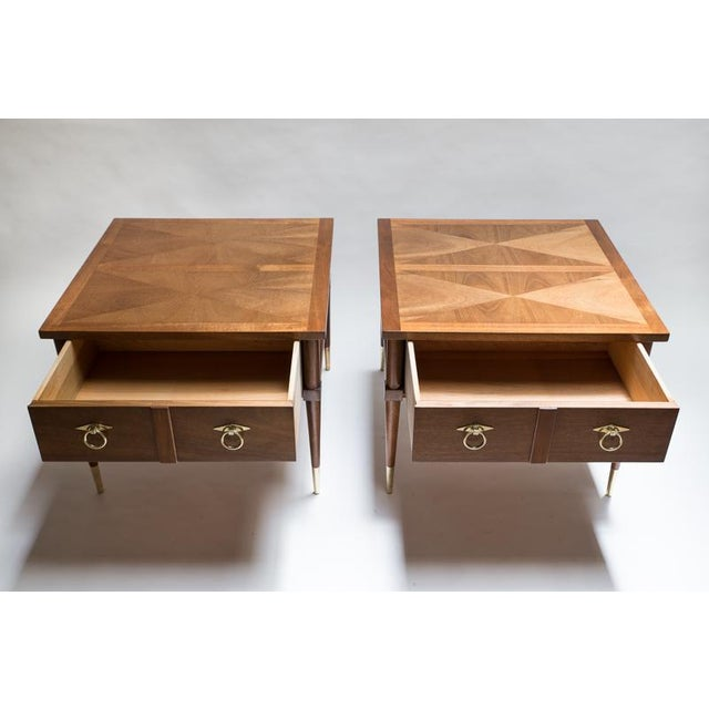 American of Martinsville Side Tables - A Pair - Image 3 of 8