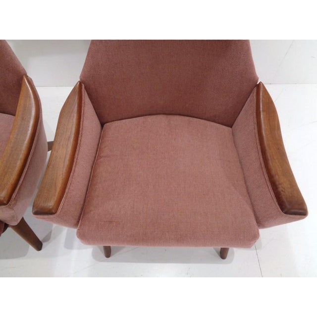 Mid Century His & Hers Adrian Pearsall Lounge Chairs For Sale - Image 9 of 13
