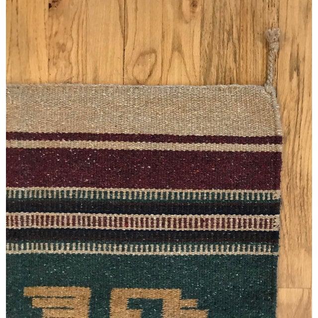 "Traditional Southwest Style Arizona Rug - 30"" x 65"" For Sale - Image 3 of 6"