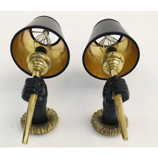Neoclassical 1960s John Devoluy Sconces - a Pair For Sale - Image 3 of 8