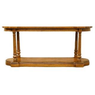"Gordon's Furniture Italian Neoclassical 60"" Sofa Table For Sale"