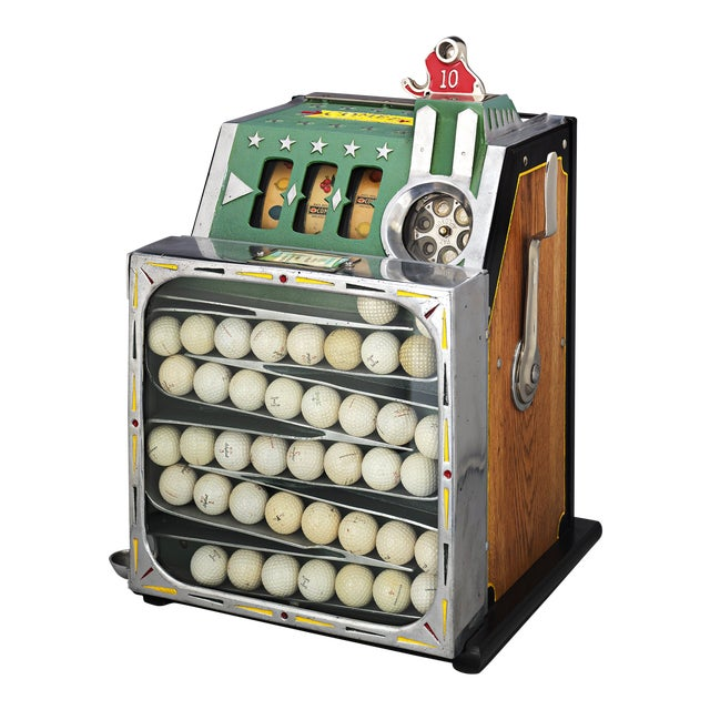 The Comet Golf Ball Vendor by Pace For Sale