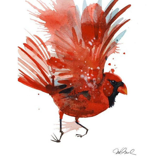 Not Yet Made - Made To Order Red Cardinal Giclee Print For Sale - Image 5 of 5