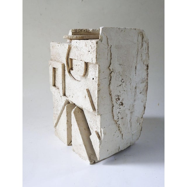 Plaster Plaster Abstract Sculpture For Sale - Image 7 of 7