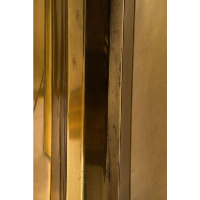 An ultra glamorous trilobi brass dining table base by Mastercraft. Featuring a polished brass finish and a hard to find...
