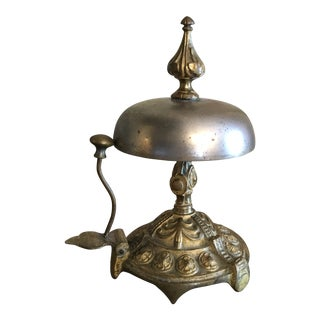 Antique French Normandy Estate Calling Bell For Sale
