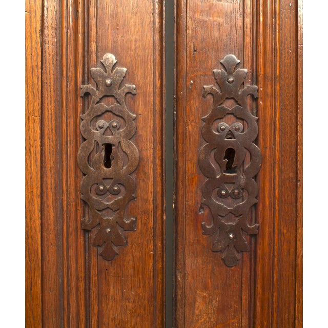 Pair of 18th Century French Provincial Walnut Doors For Sale - Image 4 of 6