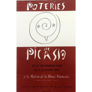 """1959 """"Poteries de Picasso"""" Pablo Picasso 59, Lithograph Art in Posters, Mourlot For Sale"""