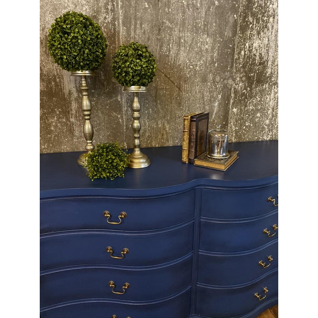 1940s 1940s Vintage Mid Century Painted Dresser For Sale - Image 5 of 8
