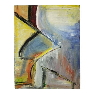 1990s Abstract Painting by Terry Frid For Sale