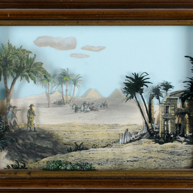 Napoleon Egypt Expedition 3D Paper Shadowbox Diorama - Image 3 of 5