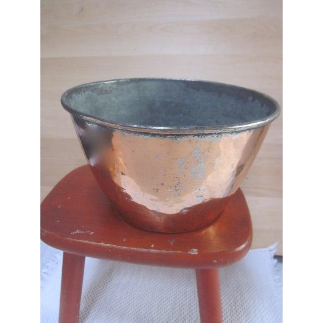 Copper Pot Set Hammered Copper & Brass Pots & Pans - Set of 4 - Image 5 of 10