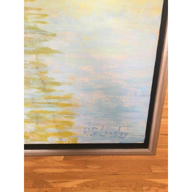 Rob Longley, Morning Reflections Painting, 2018 For Sale In New York - Image 6 of 8