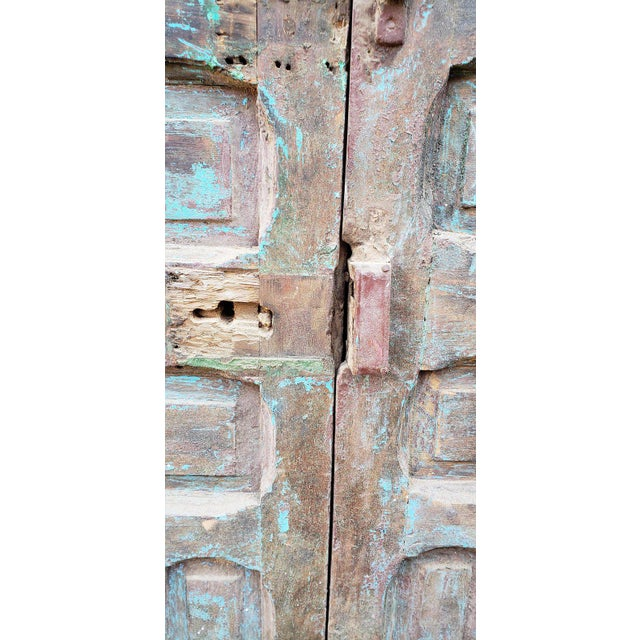 """This is an amazingly beautiful single panel Moroccan door measuring approximately 91.5"""" in height and 42"""" in width...."""