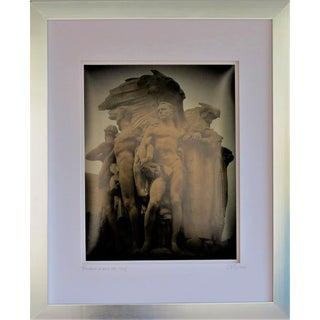 Triumph of Man, Wdc 1924 by C. Damien Fox For Sale