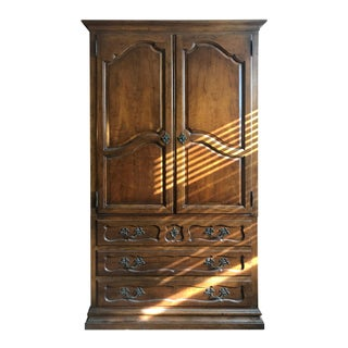 Milling Road Furniture Walnut Armoire