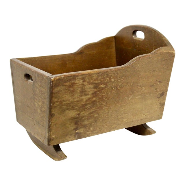 Late 19th C. Antique Rocking Cradle Rack For Sale