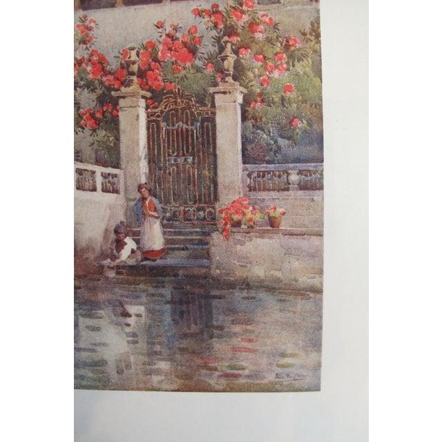 1905 Ella du Cane Print, Villa Garden, Lago D'Orta - Image 5 of 5