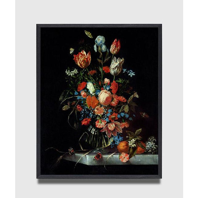 Ottmar Elliger Dutch Still Life With Flowers From 1673 Unframed Giclée on Paper For Sale - Image 4 of 8