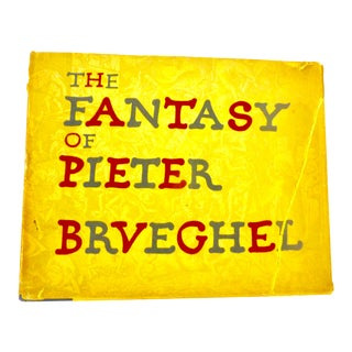 The Fantasy of PIeter Bruebhel Art Book For Sale