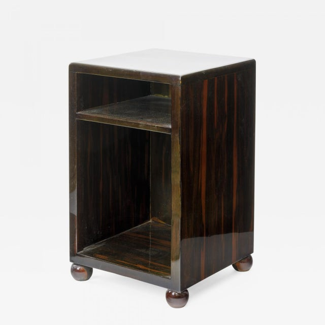 Art Deco Superb Macassar Side Table For Sale - Image 4 of 4