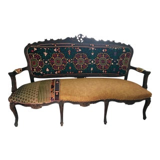 Bokja Sofa One of Kind Hand Embroidered Boho Chic 2000s For Sale