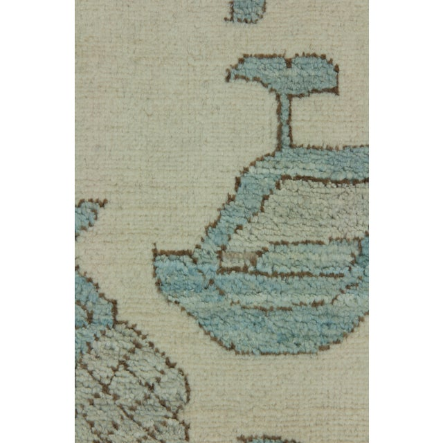 """Traditional Ziegler Hand Knotted Area Rug - 5'2"""" X 8'0"""" For Sale - Image 3 of 3"""