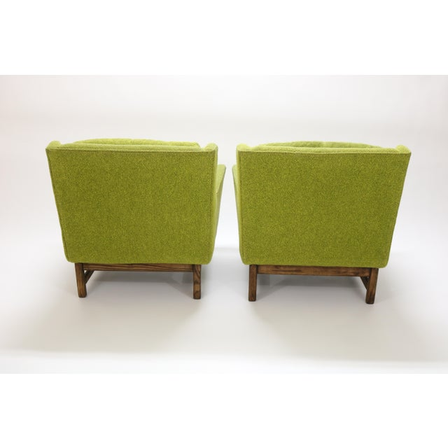1960s Danish Selig Vista Lounge Chairs Attributed to Dan Johnson - a Pair For Sale - Image 5 of 13