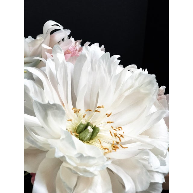 Peony 102 photographic print from California based photographer Christina Fluegge. Paper print on Hahnemuhle photo rag...